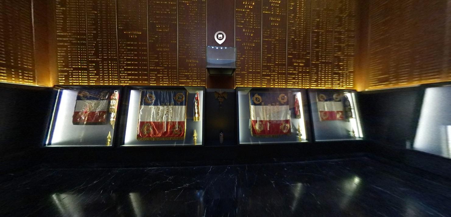 Visite virtuelle du Musée de la Légion étrangère