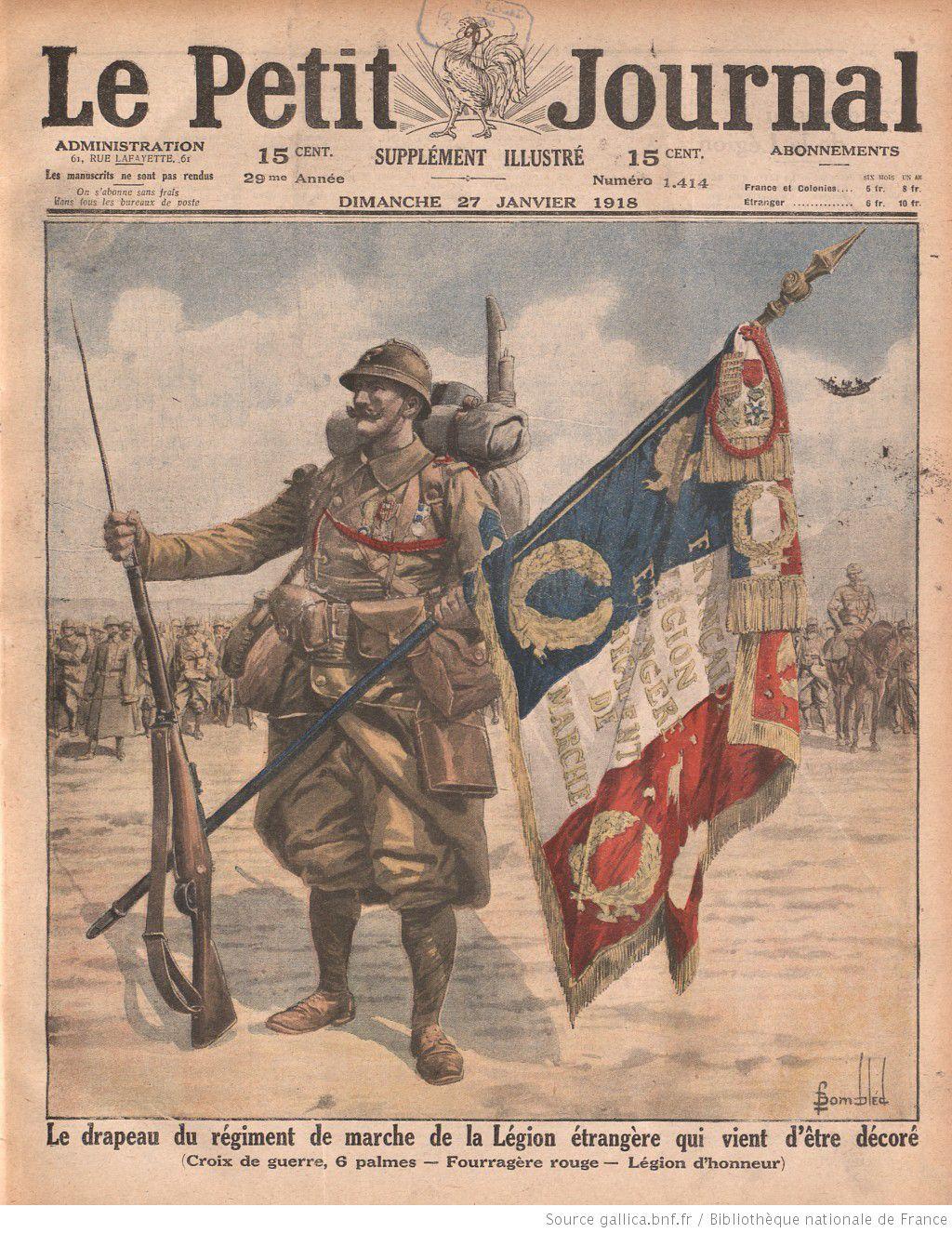 1918 for Le journal de la